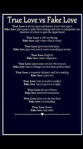 Fake Love Quotes Impressive True Love Vs Fake Love LOVE Pinterest