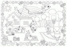 Placemat Kerst Kleurplaat Ritchie