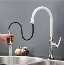 Sinks glamorous white kitchen faucets Modern White Kitchen Faucet