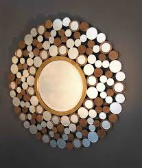 mirror art wall decor. outstanding design wall decor mirrors art awesome hanging wood material combination stunning look mirror
