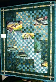 Fish Quilt Patterns Fish Sanctuary Pieced And Quilted By Beth ... & Fish Quilt Patterns Fish Sanctuary Pieced And Quilted By Beth Kobliska Lap  Size I Used Easy Adamdwight.com