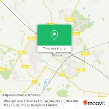 How to get to Wesley Lane, Franklins House, Wesley Ln, Bicester OX26 6JU,  United Kingdom in Bicester by Bus or Train | Moovit