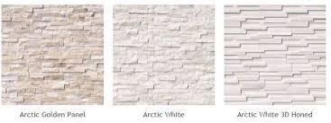 natural stone veneer panels of diffe types arctic golden panel arctic white arctic