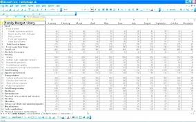 How To Make A Monthly Budget On Excel Sample Budget Excel Free Personal Monthly Budget Template For Excel