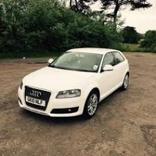 used audi a3 3 door 1 4 10 plate white