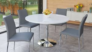 modern white round table round dining table for 4 modern dining room ideas