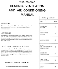 1977 pontiac air conditioning wiring diagram 1977 auto wiring 1960 pontiac heater air conditioning repair shop manual original on 1977 pontiac air conditioning wiring diagram