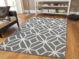 gray rugs 8 10 contemporary diamond patterned moroccan geometric grey area rug 5