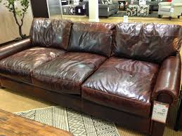 restoration hardware leather sofa. Simple Hardware Restoration Hardware KnockOff Couch To Leather Sofa R