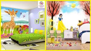 Cute Wallpaper Designs For Kids Bedroom // Children Room Decoration Ideas