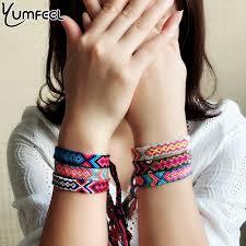Yumfeel <b>Bohemian Thread Bracelet Retro</b> Handmade Boho ...