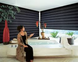 motorized window blinds. electric window treatments motorized blinds d