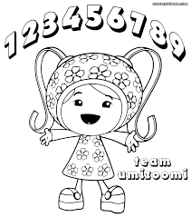 Small Picture Coloring Pages Team Umizoomi Drawing With Umizoomi Coloring Pages