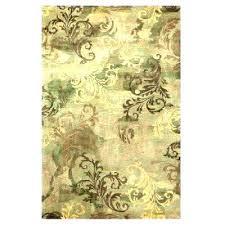 sage green rug area rugs 3 x 5 the home depot decorators lime oriental sage green rug