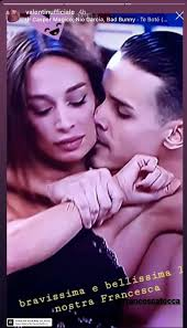 Valentin e Francesca Tocca continuano ad amoreggiare (..e Raimondo Todaro  muto) - RETE 7