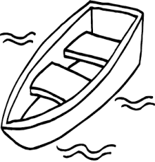 Small Picture Fishing Boat with Man Coloring Book