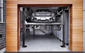 garage car workshop. car lift garage   4 post workshop