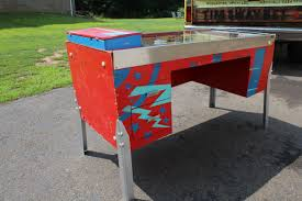 custom made office desks. Custom Desks Custommade Com Pinball Machine Converted Into Home Office Desk Made