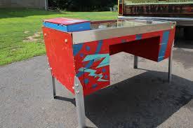 custom made office desks. Custom Desks Custommade Com Pinball Machine Converted Into Home Office Desk Made E