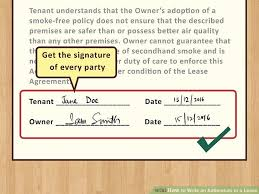 How Do You Make A Lease Agreement Gorgeous How To Write An Addendum To A Lease With Sample Addendums