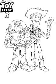 Coloriage Woody Et Buzz L Clair Imprimer Sur Coloriages Info