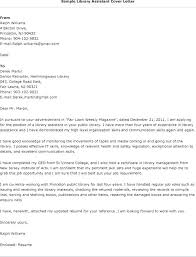 cover letter for librarians example of cover letter for it job application library job cover