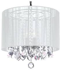 chandelier with white shade crystal chandelier chandeliers with large white shade and pink crystal stars blue chandelier with white shade