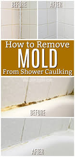 how to get rid of mold in caulking remove mold in bathroom bathtub shower caulk
