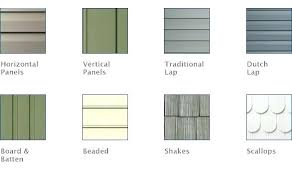 vinyl siding colors and styles. Vinyl Siding Styles Types Of 1 With Regard To . Colors And
