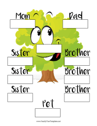 Family Tree Templates And Ancestry Charts