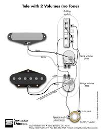 wiring diagram for a guitar pickups wiring 2 pickups 2 vol pots wiring diagram help telecaster guitar forum on wiring diagram for a
