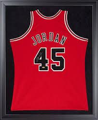 45 Signed Framed Jordan Mitchell Authentic Bulls Michael Jersey amp; 1995 Ness Uda