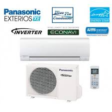split air conditioning system. panasonic xe9skua 9k btu wall mounted cooling + heating 30.6 seer split air conditioner system conditioning i