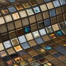 <b>Стеклянная</b> облицовочная <b>мозаика</b> модели Pecans | Ecomosaico