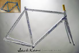 painted bicycle photos by jack kane