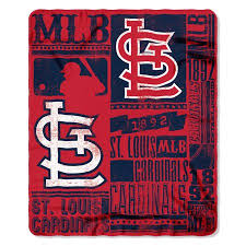 St Louis Cardinals Throw Blanket