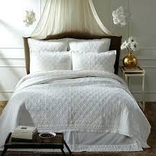 White Coverlet Twin Xl White Cotton Quilt Twin White Twin Quilts ... & White Coverlet Twin Xl White Cotton Quilt Twin White Twin Quilts For Sale  Adelia White Quilt Adamdwight.com
