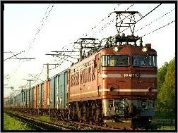 Znalezione obrazy dla zapytania pociągi towarowe rysunek