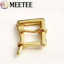 1Set=<b>4pcs Meetee</b> Solid Brass Cavalry Belt Buckle for Men DIY ...