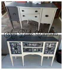 tin furniture. faux tin tile buffet chalk paint painted furniture l