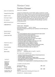 Job Resume Format Inspiration Accounts Executive Experience Resume Format Purchase Manager Job
