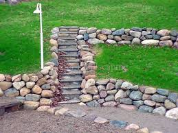 ... Kiefer Landscaping Stone Wall And Flagstone Steps