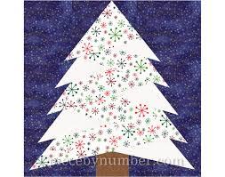 Pine Tree quilt block pattern paper piecing quilt pattern & Pine Tree quilt block pattern, paper piecing quilt pattern, Christmas tree  quilt paper pieced pattern, holiday decor, rustic home decor, PDF Adamdwight.com