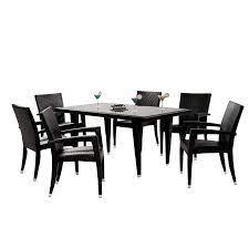 neilina black 7 piece patio set el