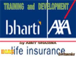 Axa Life Insurance Quote Stunning Training And Development In Bharti Axa Life Insurance AuthorSTREAM