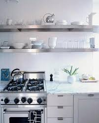 Stainless Floating Shelves Custom Stainless Steel Floating Shelf 32 Deep For Kitchens Bathrooms And