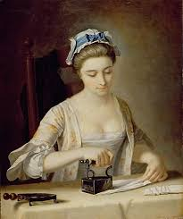 domestic servants part women making history tart titillating henry robert morland late 18th century