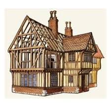 there is a tendency to call any building with exposed timber frame structure as tudor however this term applies to the period ending with the of