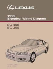 repair manuals literature for lexus sc400 1999 lexus sc 400 sc 300 wiring diagrams schematics layout factory oem