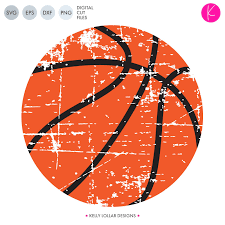 Basketball Svg Designs Distressed Basketball Svg Dxf Eps Png Cut Files